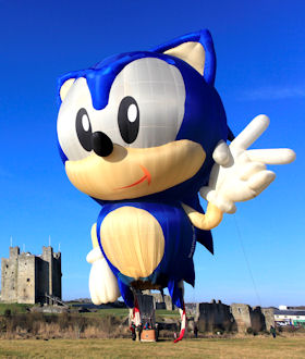 Sonic the Hedgehog at Trim Castle