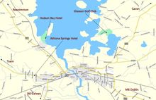 Map of Athlone